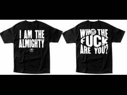 The Almighty-I Am The Almighty Black Tee